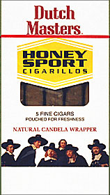DUTCH MASTERS CIGARILLOS HONEY SPORTS 5/5PKS