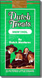 DUTCH TREATS LITTLE CIGARS- MENTHOL