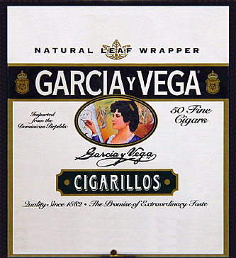 Garcia y Vega Cigarillos 50ct Box