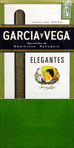 GARCIA Y VEGA ELEGANTES 5 6/PKS