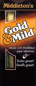 GOLD and MILD CIGARS 10 - 5PKS
