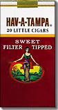 HAV A TAMPA SWEET TIPPED LITTLE CIGARS