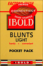 IBOLD BLUNTS - LIGHT 10-5pks