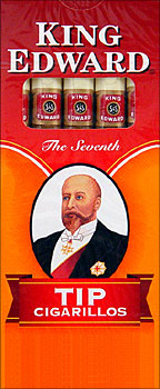 KING EDWARD TIP CIGARILLO 10/5PKS