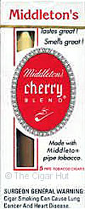 MIDDLETON'S CHERRY BLEND CIGARS 10/5PKS