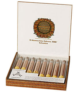 Montecristo Habana 2000 Sampler Medium Brown