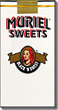 MURIEL SWEETS BLACK'N SWEET FILTERED LITTLE CIGARS