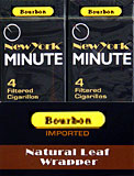 New York Minute Filtered Cigarillos Bourbon