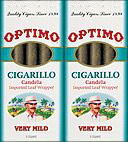 OPTIMO CIGARILLO - LIGHT WRAPPER 20/5PKS