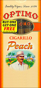 OPTIMO CIGARILLO - PEACH BUY 1 GET 1 20/5PKS