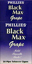 PHILLIES BLACKMAX GRAPE 30CT. BOX