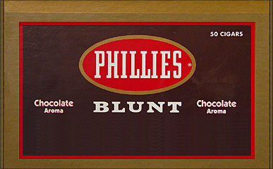 PHILLIES BLUNT CHOCOLATE 50CT/BOX