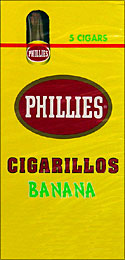 PHILLIES CIGARILLOS BANANA 6/5PKS