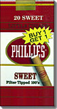 PHILLIES SWEET LITTLE CIGARS 100- FILTER TIPPED- CARTON