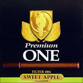 Premium One filter 100 Sweet Apple Little Cigar