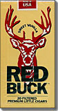 Red Buck Filtered Cigars - Sweet Vanilla 100's