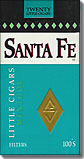 SANTA FE MENTHOL LITTLE CIGARS