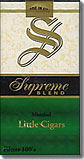 SUPREME BLEND MENTHOL LITTLE CIGARS 100's