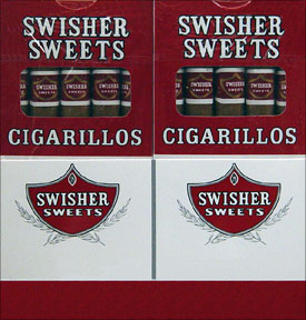 SWISHER SWEETS CIGARILLOS - 20 -  5PKS