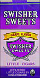 SWISHER SWEETS LITTLE CIGARS GRAPE 10/CTN