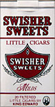 SWISHER SWEETS LITTLE CIGARS MILD 10/CTN
