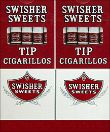 Buy Swisher Sweets Tip Cigarillos 20 - 5pks