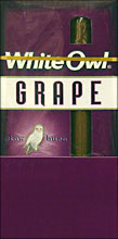 WHITE OWL CIGARILLOS - GRAPE 10/5PKS