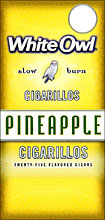 WHITE OWL CIGARILLOS - PINEAPPLE 25ct BOX