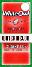 WHITE OWL CIGARILLOS - WATERMELON 25ct BOX