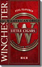 WINCHESTER LITTLE CIGARS FULL FLAVOR RICH BOX