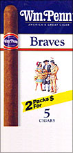 WM. PENN BRAVES 20/5PKS PROMOTIONAL CARTON