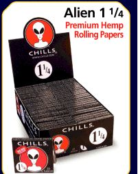 CHILLS ALIEN ROLLING PAPERS 1 1 - 4