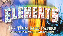 ELEMENTS THIN RICE PAPERS 25CT. - 1 1/2