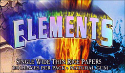 ELEMENTS THIN RICE PAPERS 25CT. - SINGLE WIDTH