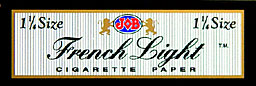 JOB 1 1/4 FRENCH LIGHT CIGARETTE PAPER 24CT BOX