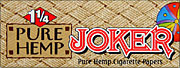 JOKER 1 1 - 4 PURE HEMP ROLLING PAPERS 24CT