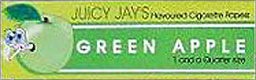 JUICY JAY'S 1 1/4 GREEN APPLE HERBAL PAPERS 24CT BOX