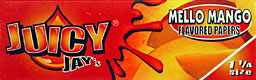 JUICY JAY'S 1 1/4 MELLO MANGO HERBAL PAPERS 24CT BOX