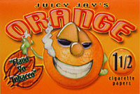 JUICY JAY'S ORANGE 1 1/2 HERBAL PAPERS 24CT BOX