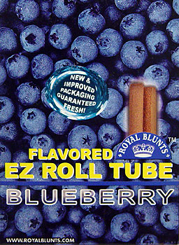Buy ROYAL BLUNTS EZ ROLL TUBE - BLUEBERRY