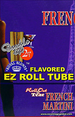 ROYAL BLUNTS EZ ROLL TUBE FRENCH MARTINI - 25 2/PKS