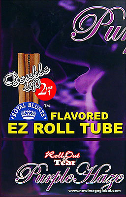 ROYAL BLUNTS EZ ROLL TUBE PURPLE HAZE - 25 2 - PKS