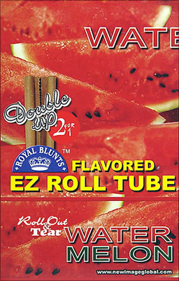 ROYAL BLUNTS EZ ROLL TUBE WATERMELON - 25 2/PKS