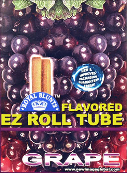 ROYAL BLUNTS EZ ROLL TUBE - GRAPE