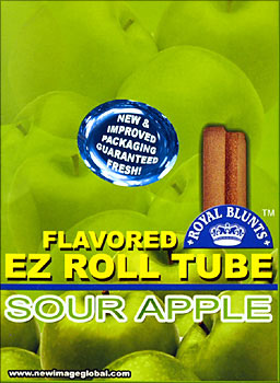 ROYAL BLUNTS EZ ROLL TUBE - SOUR APPLE