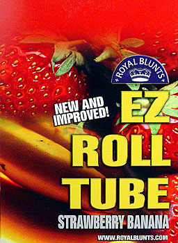ROYAL BLUNTS EZ ROLL TUBE - STRAWBERRY BANANA