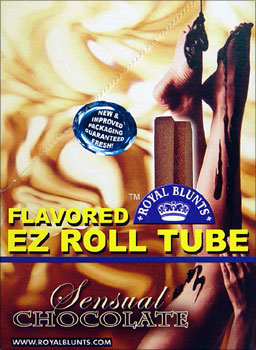 ROYAL BLUNTS EZ ROLL TUBE - SENSUAL CHOCOLATE