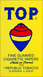 TOP CIGARETTE PAPER 24CT BOX