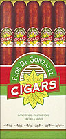 Flor De Gonzalez Extra Corona Medium Brown