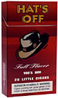 HAT'S OFF FULL FLAVOR 100 BOX